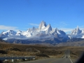 A final look at Mt. Fitz Roy.