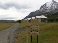 Heading out from Hotel Las Torres, Torres Del Paine.