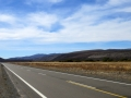 Desolate Ruta 40.