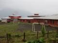Playground soccer in Hornopirén.
