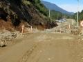 More slow going, south of Villa Santa Lucia.