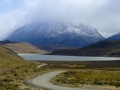 Road into Torres Del Paine.
