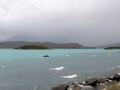Lake whitecaps. (Torres Del Paine)