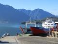 Stunning day for Hornopiren - Leptepu ferry ride.