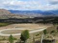 Video game road, between El Blanco and Villa Cerro Castillo.
