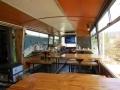Inside the bus. (Villa Cerro Castillo)