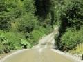More narrow road. (Villa Cerro Castillo - Puerto Rio Tranquilo)